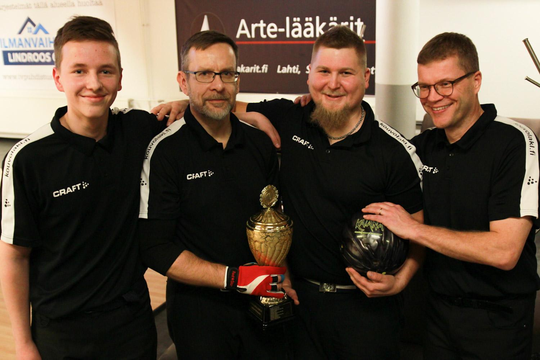 Miesten Liittomyllyn voittajat